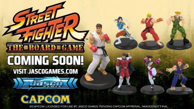 Street Fighter Miniatures