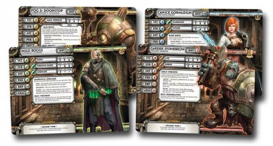 The Undercity (Character Cards)
