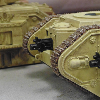 Getting Stuck Into The Details - Painting Tank Stowage & More