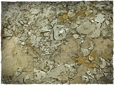 Wasteland Cracked Cement (Close-Up)