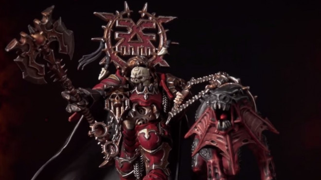 Games Workshop Painting Tutorial: How To Paint Korghos Khul – Lord Of Khorne
