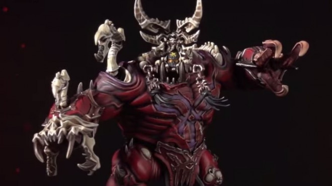 Games Workshop Painting Tutorial: How To Paint The Khorgorath
