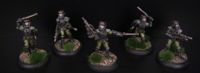 28mm Earth Force Security Hounds