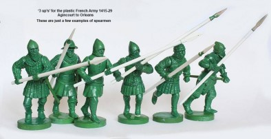 Agincourt French (Spears)