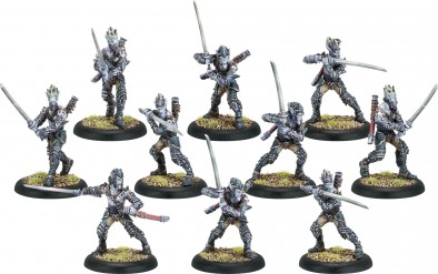 Blighted Nyss Swordsmen