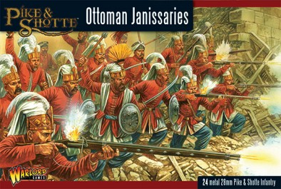 Ottoman Janissaries (Cover)