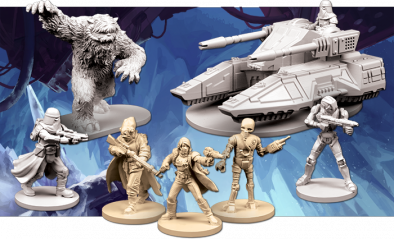 Return To Hoth (Miniatures)