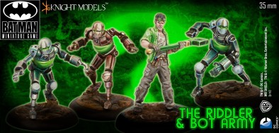 The Riddler & Bot Army