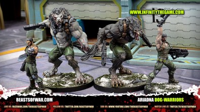 Unboxing: Infinity Ariadna Dog-Warriors
