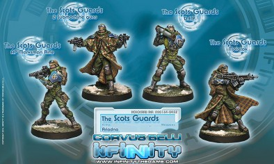 Unboxing: Infinity Ariadna Scots Guards