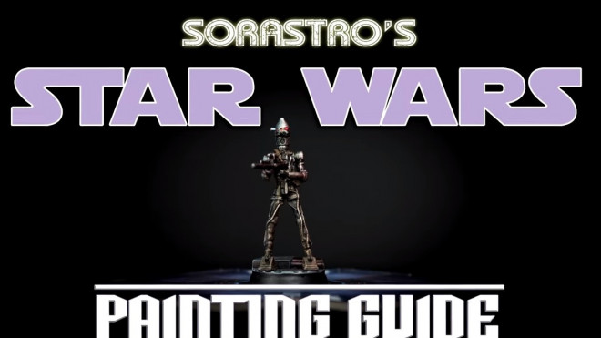 Star Wars Imperial Assault Painting Guide: How To Paint IG-88