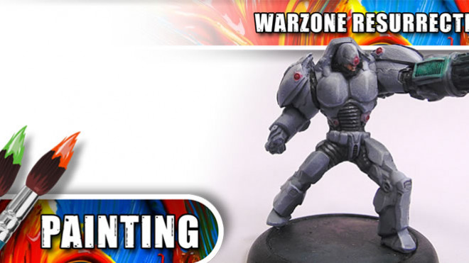 3CU: How To Paint A Warzone Resurrection Immortal –  Part One