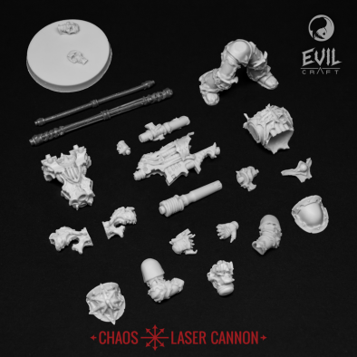 Chaos Laser Cannon (Components)