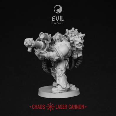 Chaos Laser Cannon (Front)