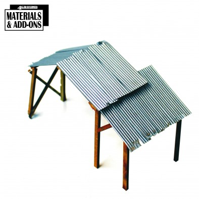 Corrugated Sheets On Roof