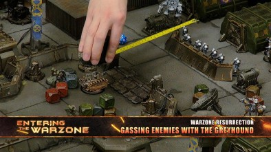 Entering The Warzone - Gassing Enemies With The Greyhound