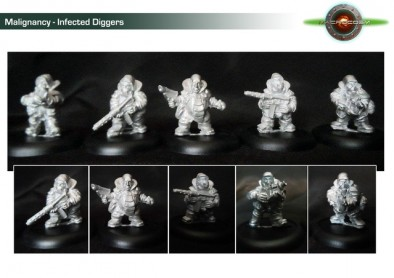 Infected Diggers