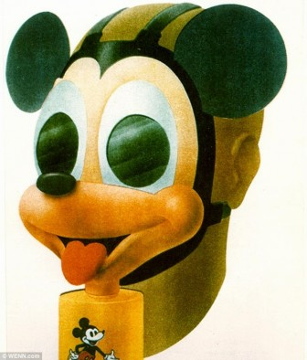 Mickey Mouse Gas Masks for Children from WWII (2)