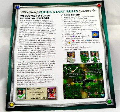 Quick Start Rules