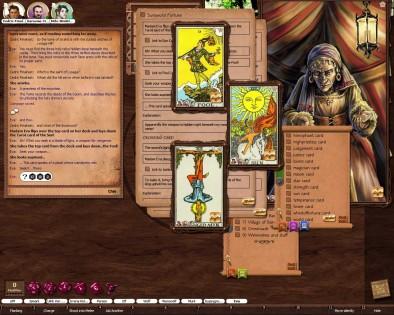 Role Play Screen