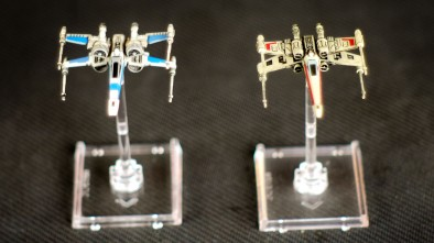 Star Wars: X-Wing Force Awakens Comparing T-70 to T-65