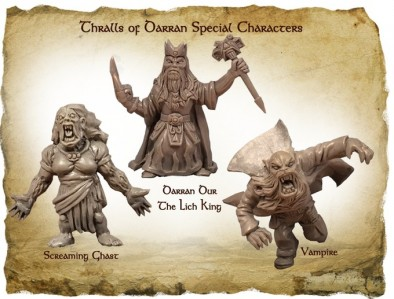 Thrall Of Darran Characters