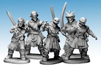Undead Heads (Frostgrave)
