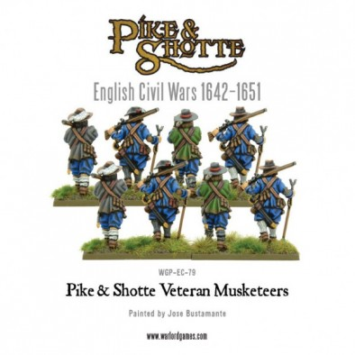 Veteran Musketeers (Rear)