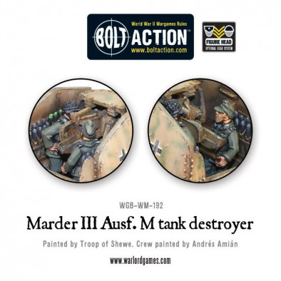 Unboxing: Bolt Action Marder III Tank Destroyer