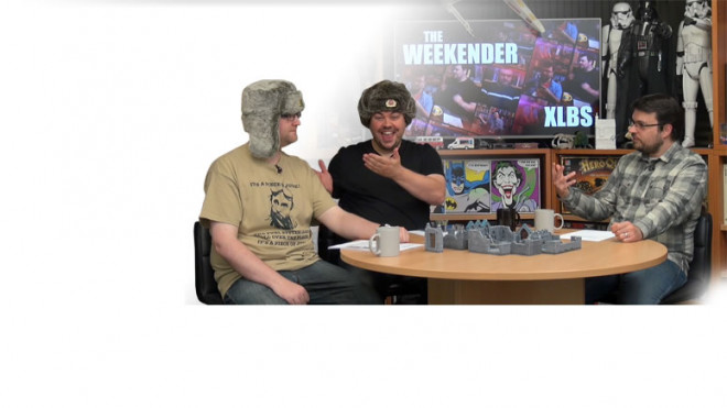 Weekender XLBS: Dungeon Delving Show Update & More Star Wars X-Wing!