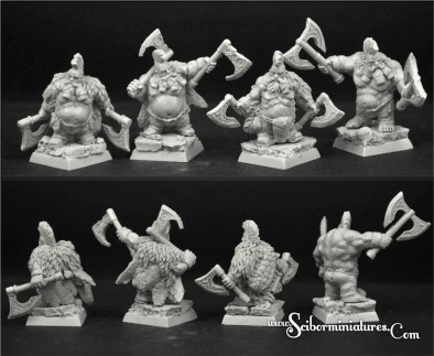 Wild Warrior Dwarves