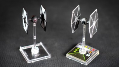X-Wing Force Awakens Comparing TIE Fighter Colour Schemes