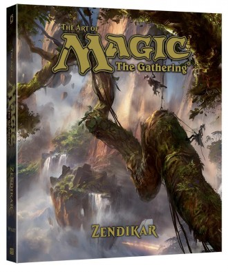 mtg art book