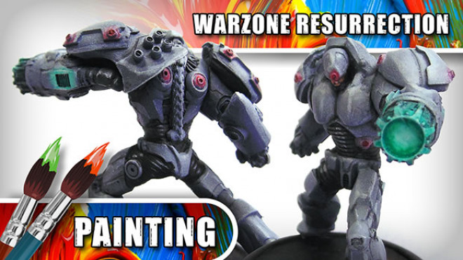 3CU: How To Paint A Warzone: Resurrection Immortal – Part Two