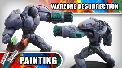 3CU: How To Paint A Warzone: Resurrection Immortal - Part Three