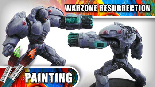 3CU: How To Paint A Warzone: Resurrection Immortal –  Part Three