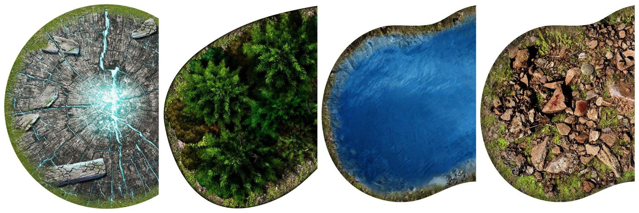 image about 2d Printable Terrain named Incorporate Matter In direction of Your Recreation With 2D Mats Versus Weakened Egg Online games