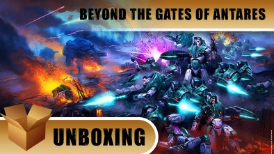 Beyond The Gates Of Antares Two Player Starter Set Unboxed