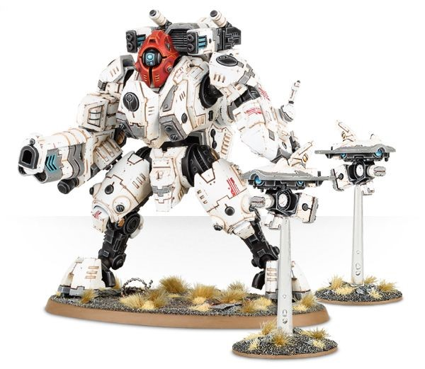 New XV95 Ghostkeel Battlesuit Joins The Tau For The Greater