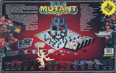 Mutant Chronicles - Siege Of The Citadel (Back)