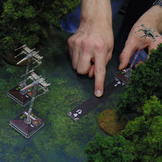 X-Wing On Endor: Turn 01 - Movement & Actions