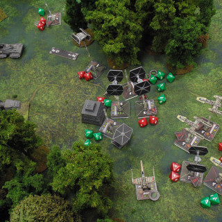 X-Wing On Endor: Turn 05 - Shooting