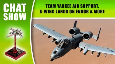 Weekender: Team Yankee Air Support, X-Wing Lands On Endor & More