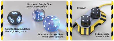 boogie dice options