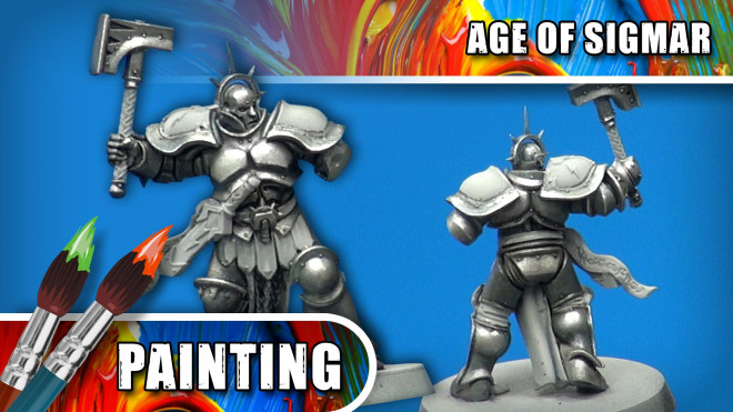 3 Colours Up – How To Paint A True Silver Stormcast Eternal