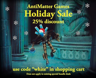 AntiMatter Games Black Friday