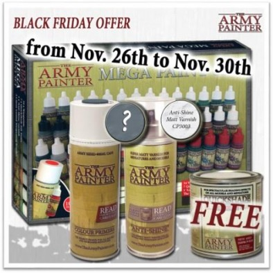 Army Painter Black Friday