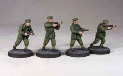 Army Privates With SMGs