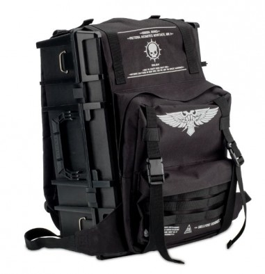 Backpack and Crusade Case