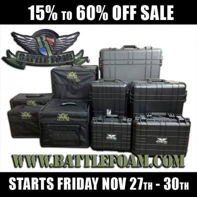 Battle Foam Mega Sale
